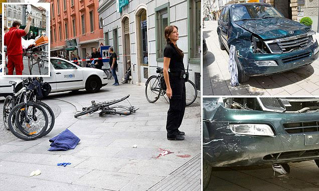 3 dead as man drives SUV into crowds in Graz before 'stabbing bystanders'