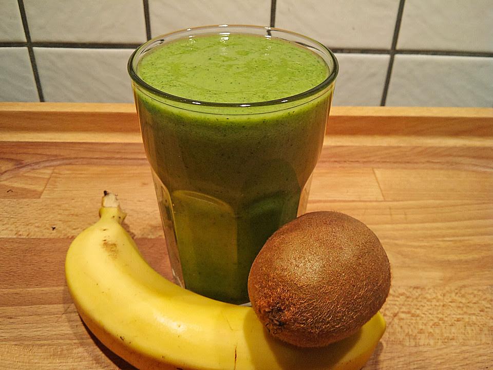 Rezept Shake Kiwi  Bananen Smoothie
