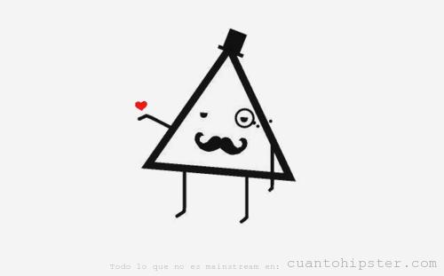 Triángulo Cuánto Hipster