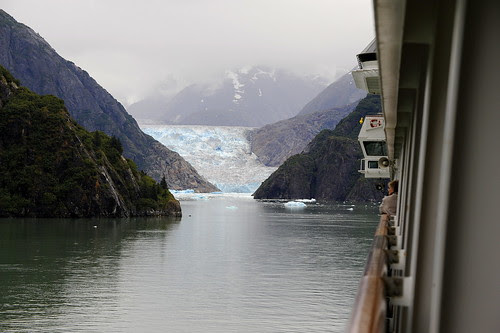 Sawyer Glacier from the Amsterdam by RV Bob