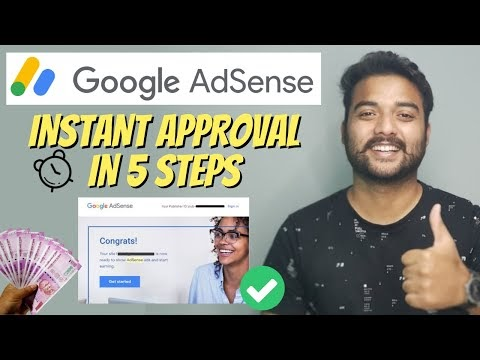 🔥 INSTANT Google Adsense Approval for Blogger & WordPress (5 Steps Process) - Fast Approval #shorts