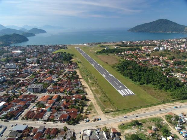 Estado que conceder aeroporto de Ubatuba à iniciativa privada (Foto: Divulgação/Daesp)