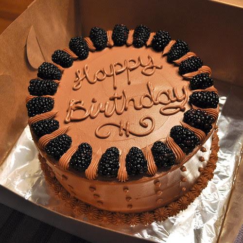 Chocolate Blackberry Cake