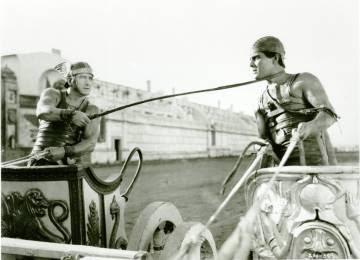 Ramón Novarro (a la derecha), en el 'Ben-Hur' de 1926.