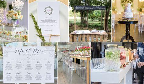 Must Have Wedding Decor Checklist PDF   Pink Book Weddings