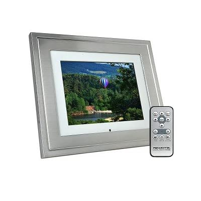 Pandigital Panr802m 8 Inch Lcd Digital Picture Frame Stylish Metal