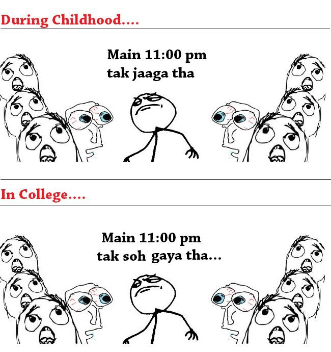 Imágenes De Funny Quotes On College Life In Hindi