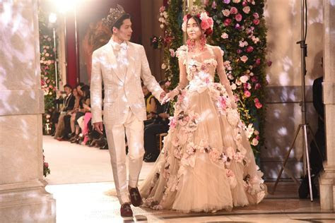 Dolce & Gabbana?s Cherry Blossom Couture Lands in Tokyo