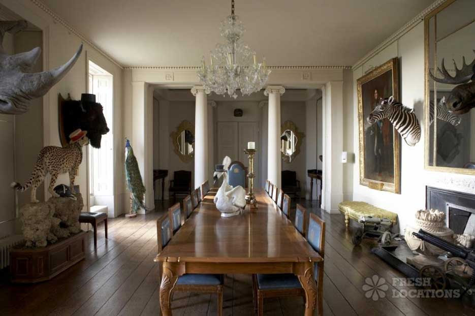 Stately home interiors - House design plans