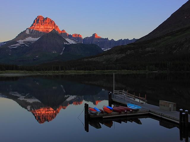 IMG_0488 Mount Wilbur at Sunrise, Glacier National Park