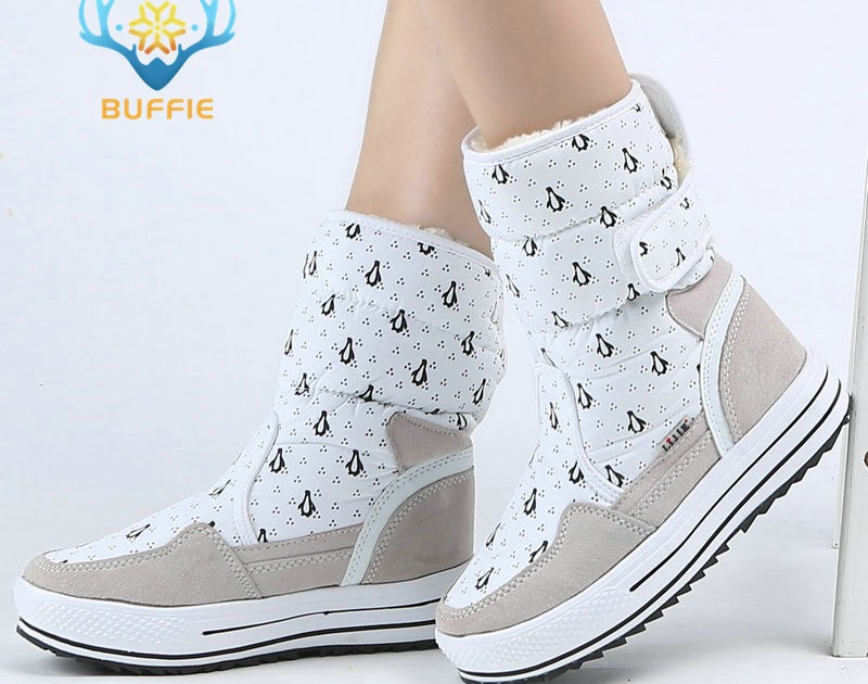 711e79dd4d70 Comprar Mujer Invierno Zapatos De Moda Cálida Piel Gruesa Hebilla Alta  Calidad Estilo Gran Plus Tamaño 34 A 41 Envío Gratis Fácil Usar Online  Baratos ...