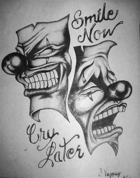 smile  cry   vazquez  deviantart tattoos