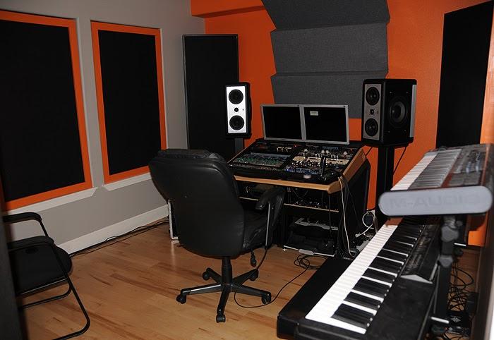 Small Recording Studio Design Ideas - Home Design Inside