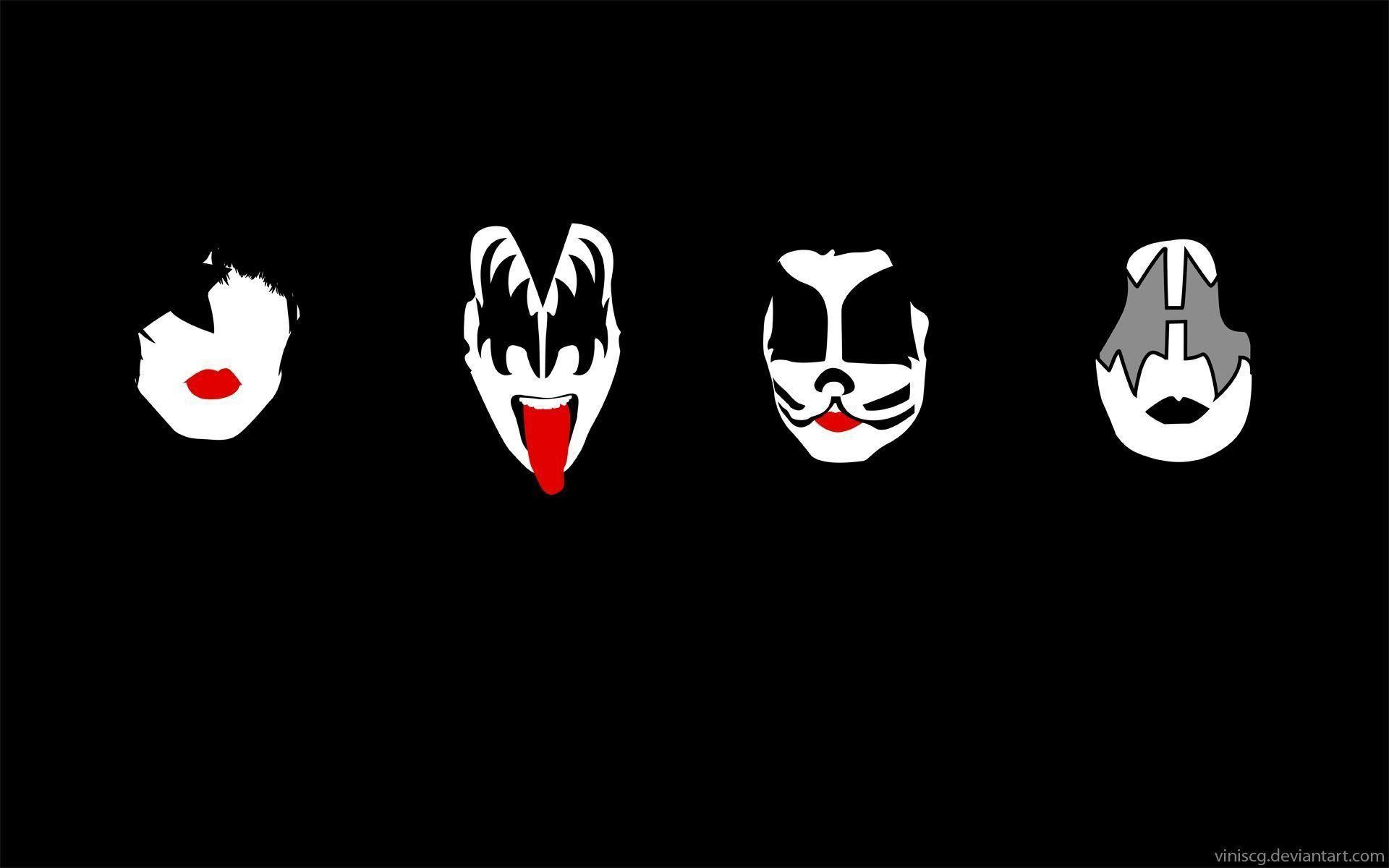 Rock Band Kiss Wallpapers 48 Images