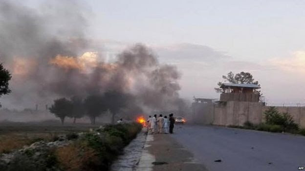 Car bomb in Khost province (12 July 2015)