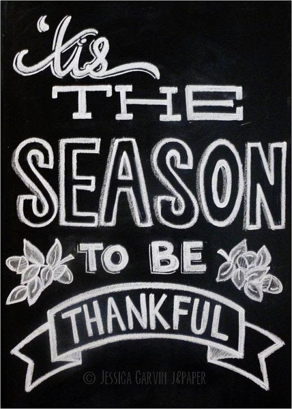 Tis The Season To Be Thankful - Thanksgiving Decor