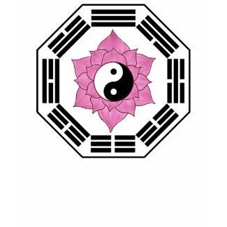 I Ching Lotus YinYang shirt