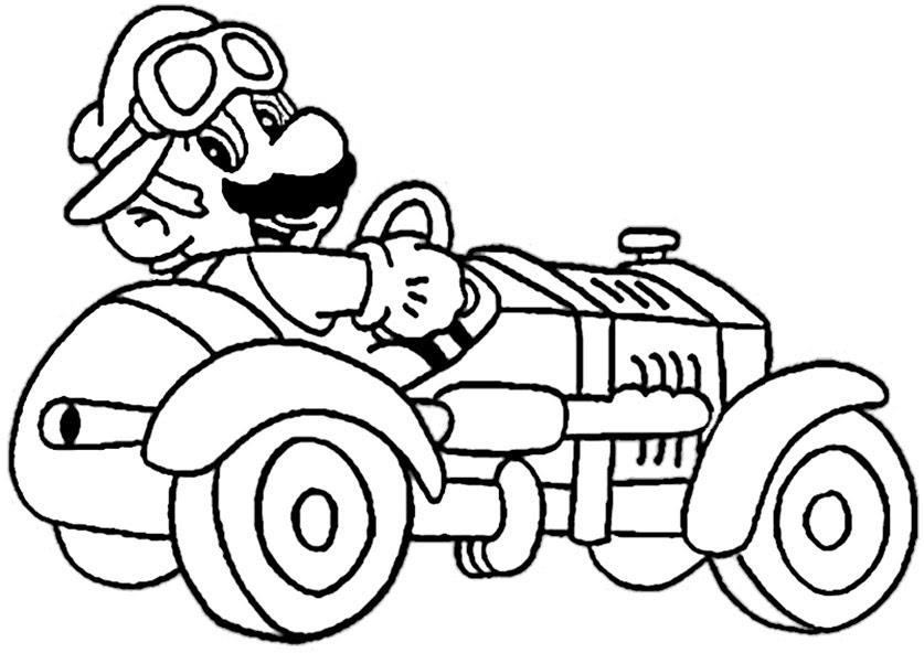 5 Free Download Mario Kart 8 Malvorlagen Worksheets For Children