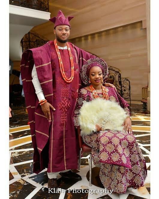 Oluwakemi and Adeyemi's Gorgeous Traditional Wedding