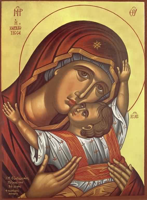 Theotokos 'Eleusa' (Merciful)