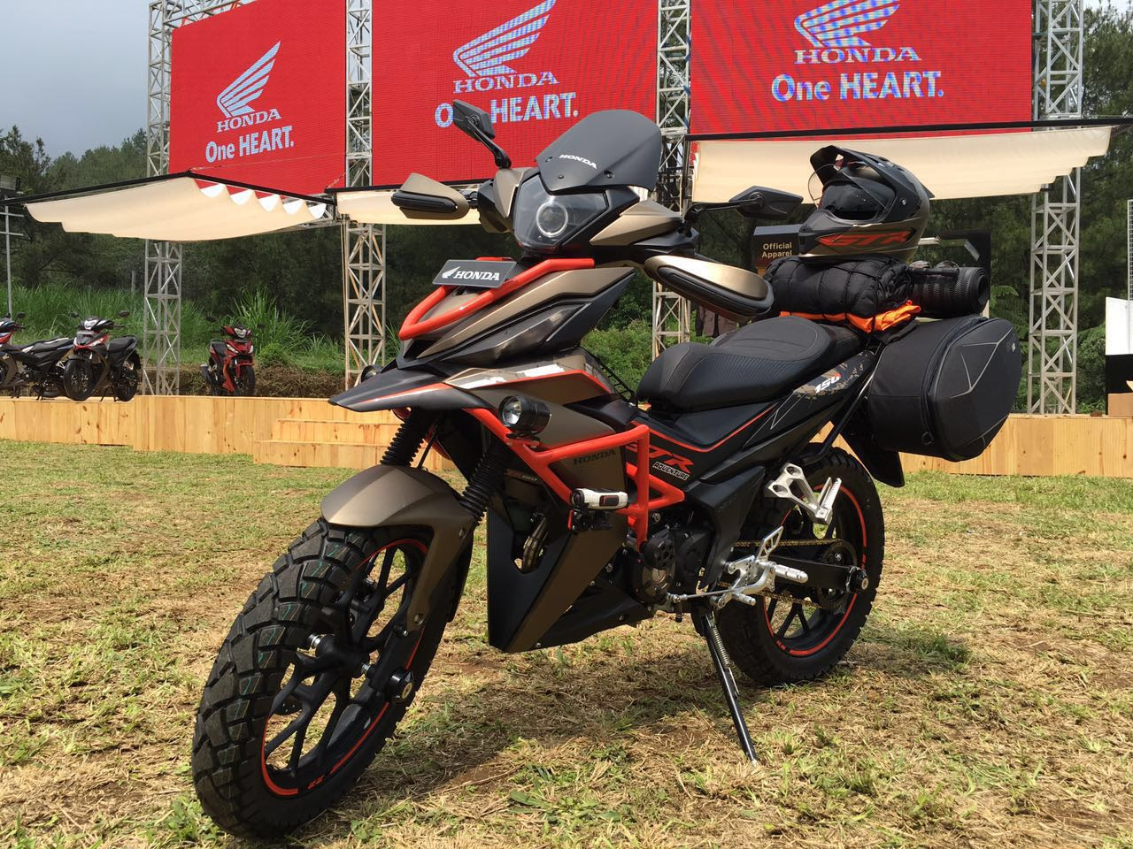 Top Modifikasi Motor Adventure Touring Terbaru