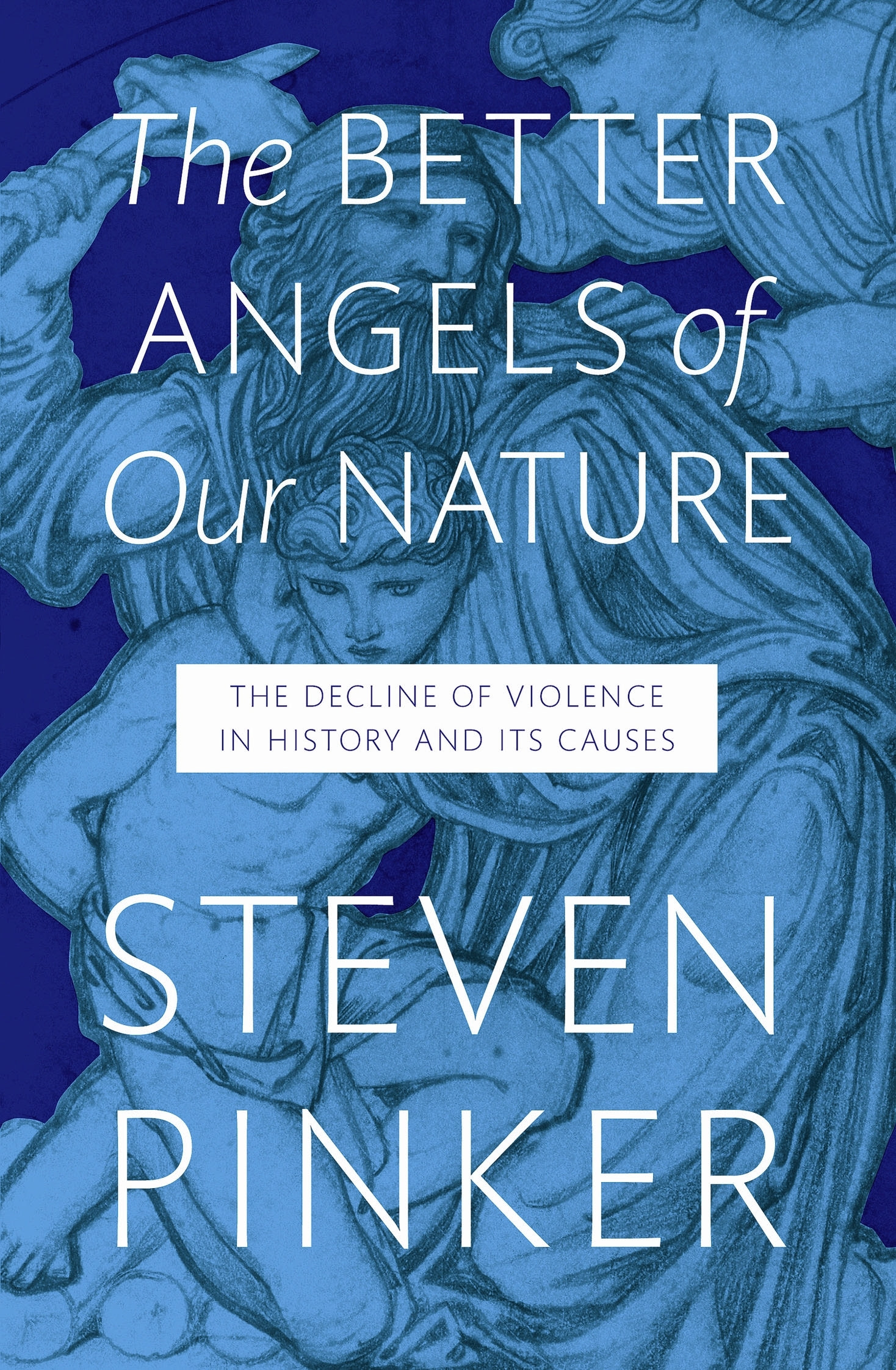 Book Cover: The Better Angels of Our Nature: The Decline of Violence in History and Its Causes