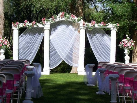 Garden wedding ideas decorations, outdoor weddings