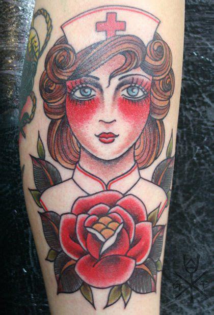 traditional nurse tattoo traditional tattoo
