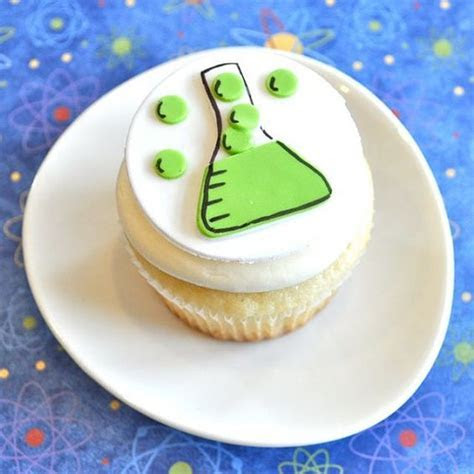 Mad Science Flask Fondant Cupcake Toppers for by