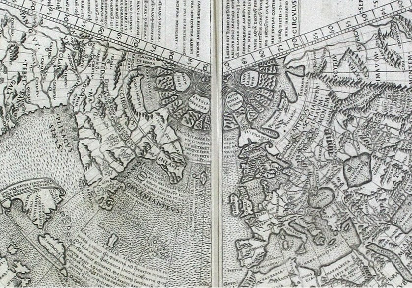 Карта Иоганна Рюйша 1507
