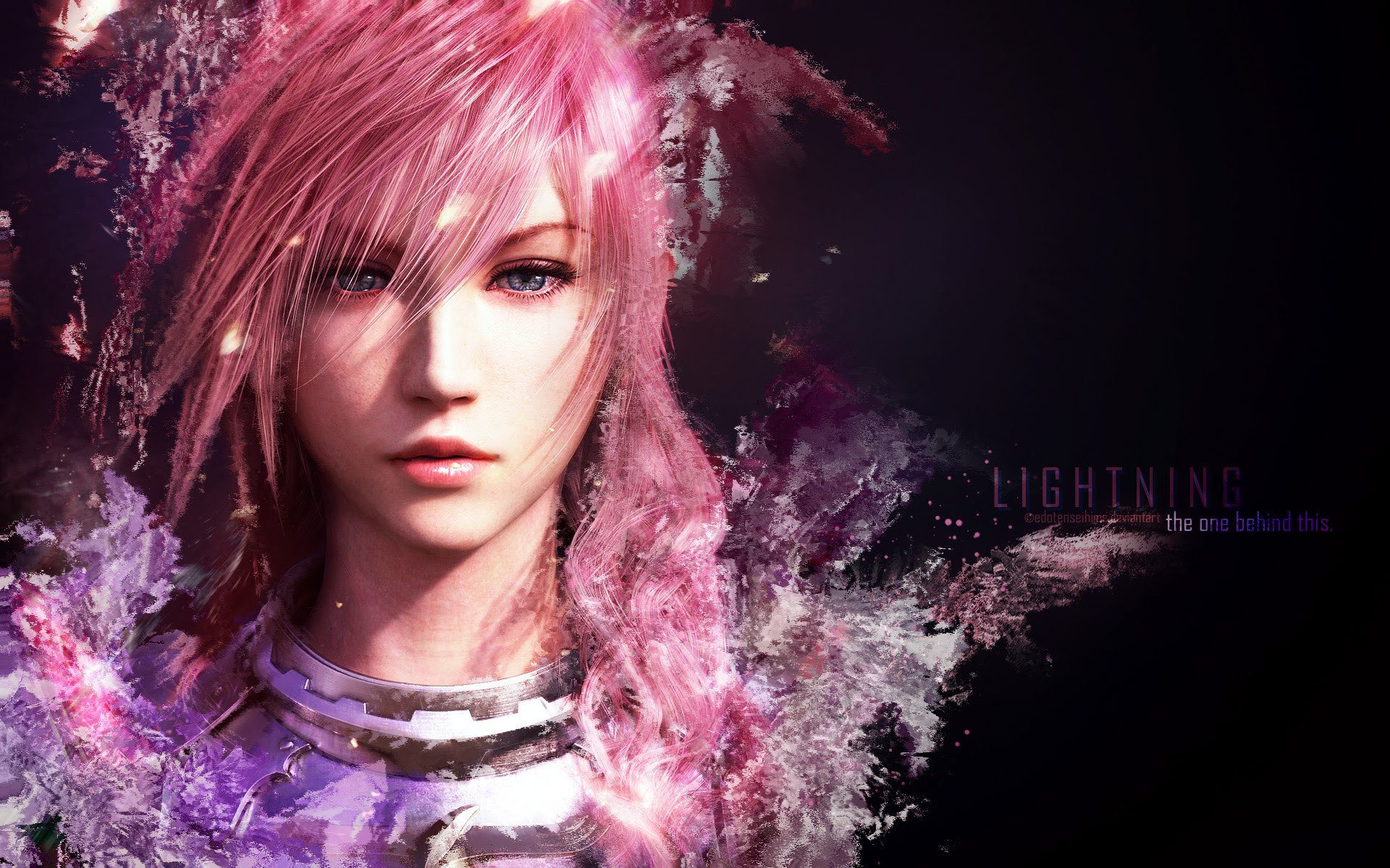 Final Fantasy Xiii Wallpaper Lightning The One Behind This