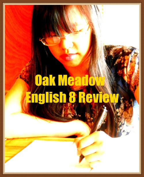 Oak Meadow English 8 Review at The Curriculum Choice