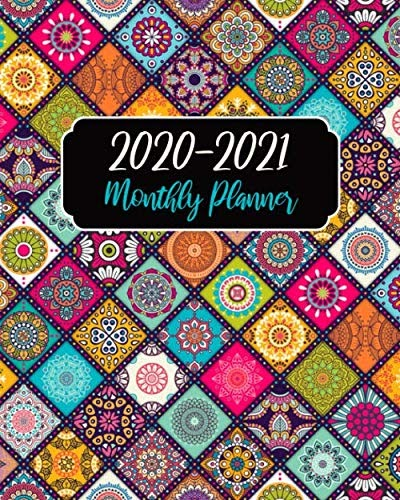 Download Now: Monthly Planner 2020-2021: Mandala Cover ...