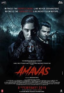 Amavas Bollywood movie torrent download 2019 pDVD