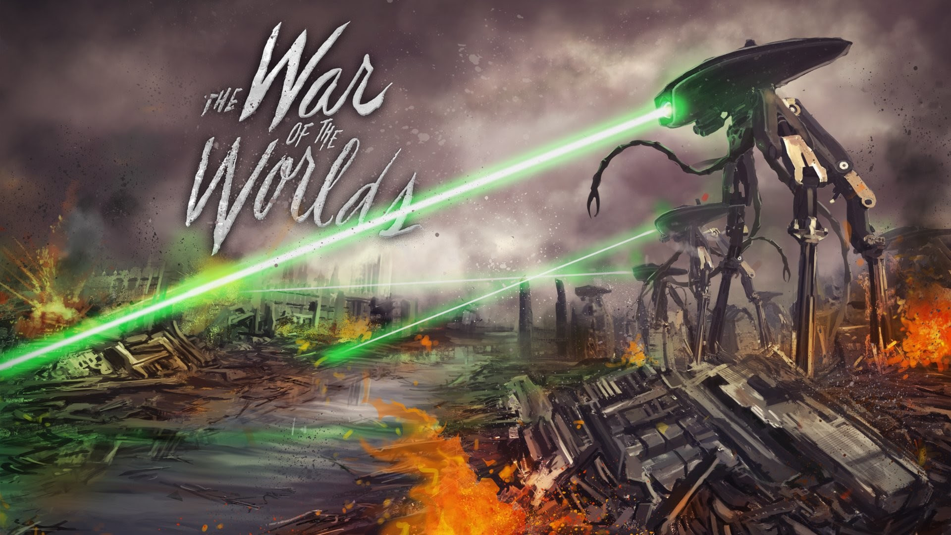 War Of The Worlds Wallpaper 70 Images