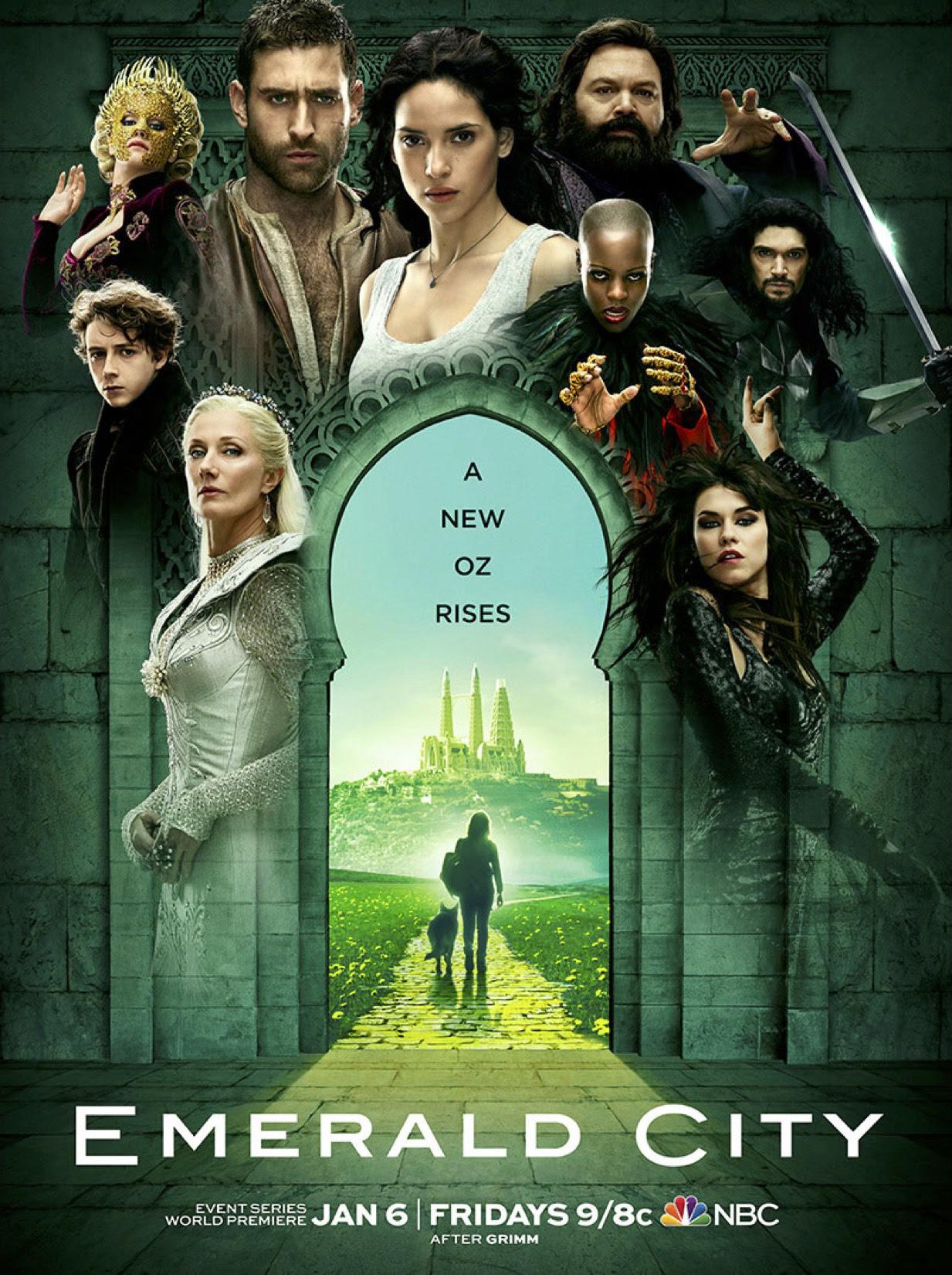 Resultado de imagem para emerald city  posters