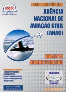 ANAC - Ag. Nacional de Aviação Civil-ANALISTA ADMINISTRATIVO