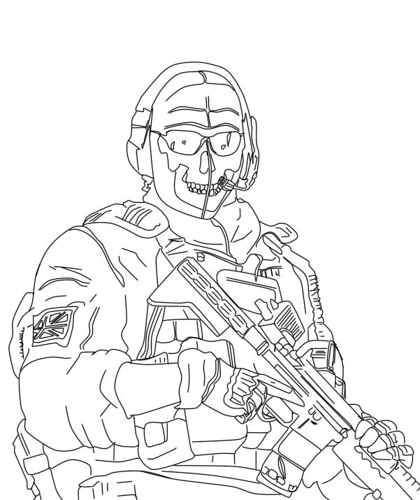 Modern Warfare 3 Free Colouring Pages Simple Coloring Blog