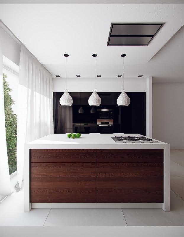 12 Modern Eat-In Kitchen Designs | Gawe Omah Design