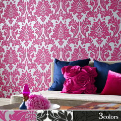 Superfrescoby Graham&Brown(Britain)MajesticImported Wallpaper【めざましテレビ「モアセブン...