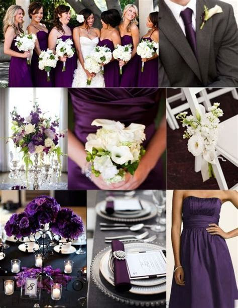 Pin by Alexandra Dolak on September 2016 Purple Wedding