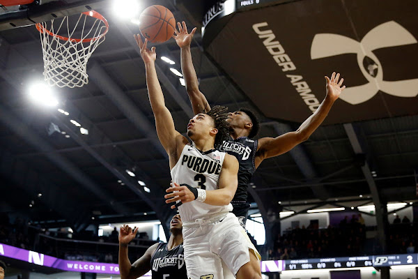 1ca4556cc73e Purdue basketball beats Northwestern to lock up share of Big Ten  championship