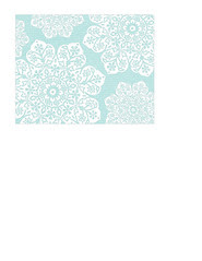 A2 size JPG batik flower Snowflakes various sizes paper LARGE SCALE