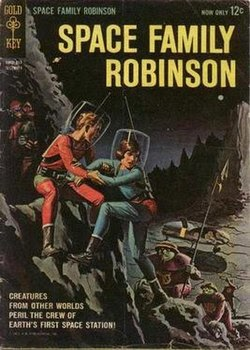 Space Family Robinson Comic Book