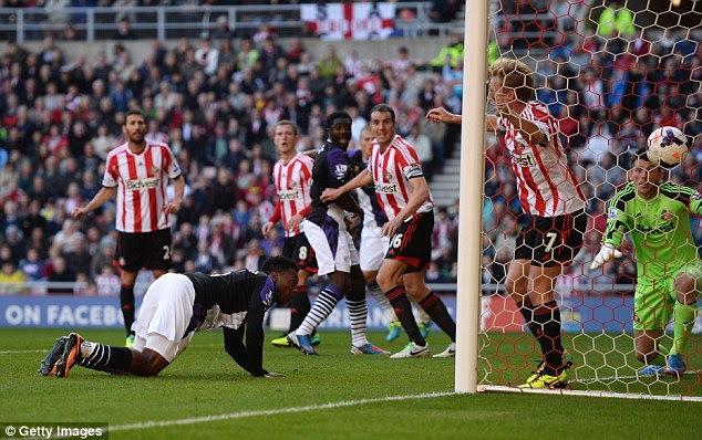 They all count: Daniel Sturridge opened the scoring with a scrappy goal