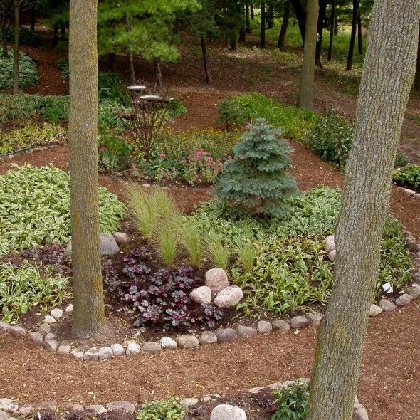 serene backyard  no grass, no mowing | Great Landscape | Pinterest