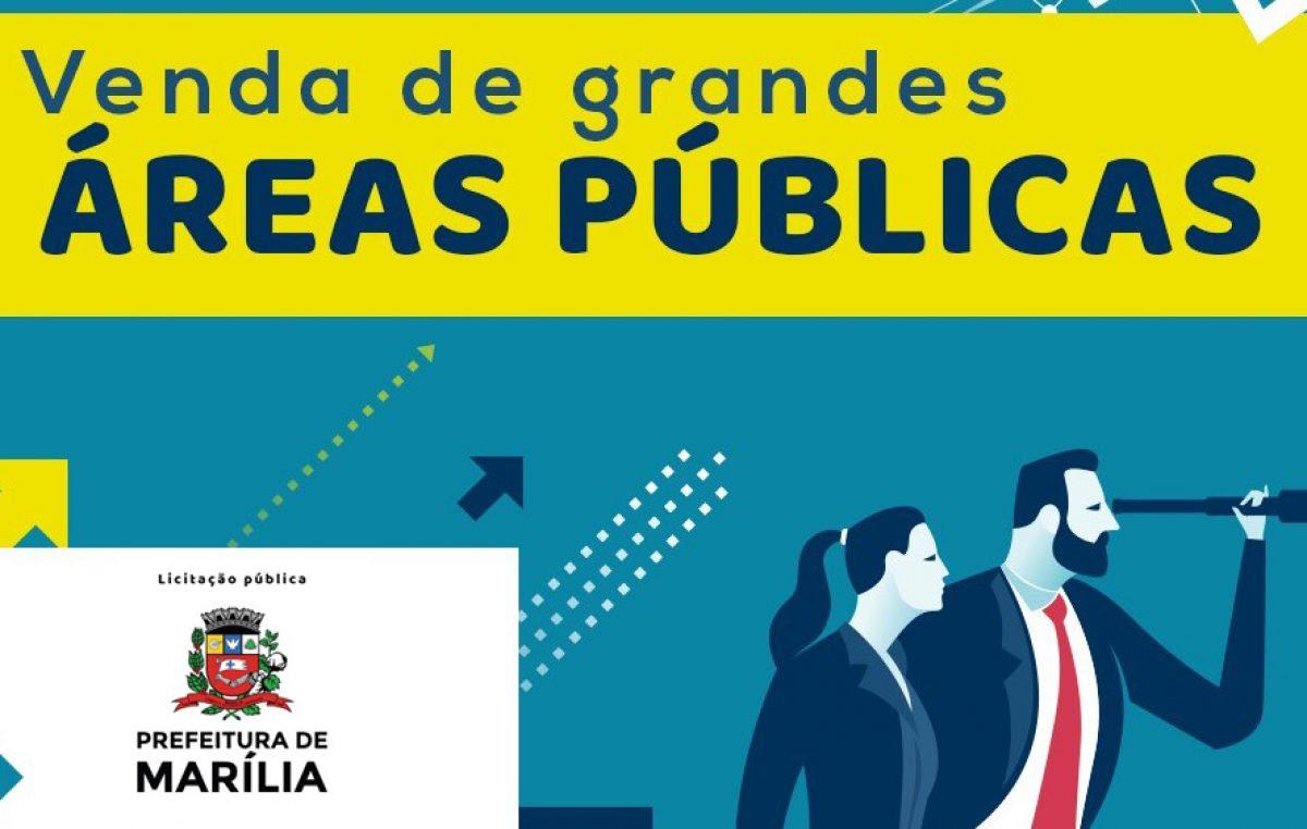 Prefeitura de Marília abre licitação  para venda de áreas públicas