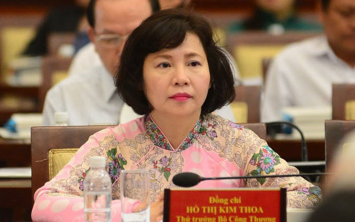 Bóng đèn Điện Quang, Hồ Thị Kim Thoa, Bộ Công Thương, cổ phiếu DQC
