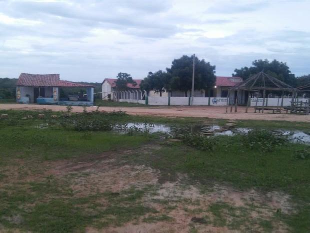Lagoa do Serrote, em Santana do Acaraú, foi uma das comunidades afetadas pelo tremor de terra (Foto: Mateus Ferreira/TV Verdes Mares)