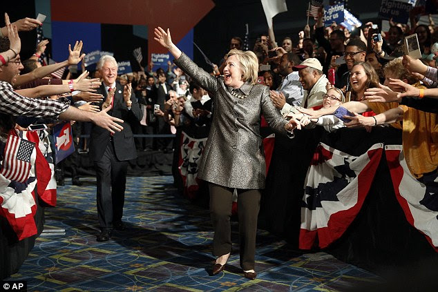 Image result for hillarys adoring crowds photos